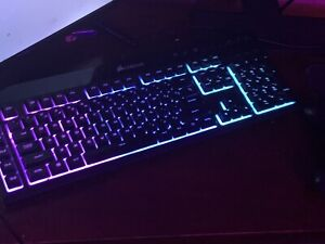 Corsair K55 (CH9206015NA) Wired RGB Backlit Gaming Keyboard It Will BE IN (BOX).