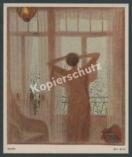 Fidus crepúsculo acaricia la Sra. elf erotismo vida reforma belleza romance Jugendstil 1906