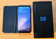 Samsung Galaxy S8 SM-G950F -64GB - Arctic Silver Smartphone mit OVP Zubehörpaket