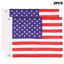 Pair Us Flag Fit 3ft 4ft 5ft Rgb Led Whip Lights Off Road Atv Polaris Rzr Buggy