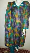 "Beautiful 3pcs 100% Cotton Lawn Salwar/Shalwar Kameez & Dupatta Suit L. Size 42"""