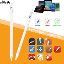 Digital Active Stylus Pen Pencil For Apple iPad Touchscreen Ultra Fine Tip 1.5mm