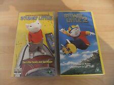 STUART LITTLE & STUART LITTLE 2 VHS VIDEOS