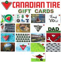 gift cards CANADIAN TIRE 🔧🛠️⚙️🚗 CanTire Canada store collectible