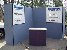 Nimlok Trade Show Exhibit 8 Feet Tall By 16 Feet W Extra Reversible Panels