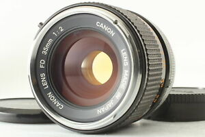 "Rare ""O"" [Excellent+5] Canon FD 35mm f2 Wide Angle MF Lens from JAPAN"