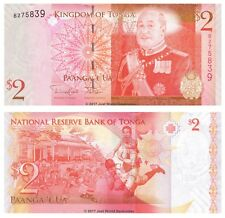 Tonga 2 Pa'anga ND (2014) P-New Banknotes UNC