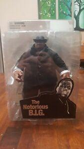"The Notorious B.I.G. Biggie Smalls 9"" Figure In Black 2006 Mezco NIB NRFB GOAT"