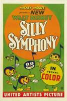 OLD MOVIE PHOTO Silly Symphony Poster Us 1933