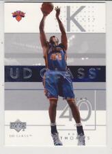 2002-03 Upper Deck UD Glass #58 Kurt Thomas New York Knicks
