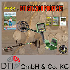 DTI GTI 2500 Profiset TOS Metallsuchgerät, Metalldetektor, Metallsonde