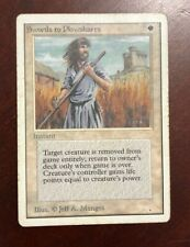 Swords to Plowshares - Unlimited - Magic the Gathering