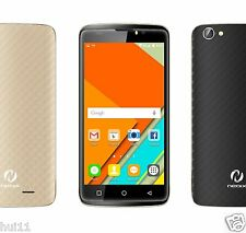 "Neoix Amorr Unlocked Android Smartphone 5.5"" / 4G Quad Core  / Black Gold Back"