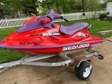 1998 Jet Ski Sea Doo GSX Limited with trailer New Battery Runs Great