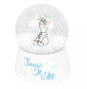 Disney Frozen 2 - Olaf Snow Globe Water Globe Winter Xmas Holiday Kids