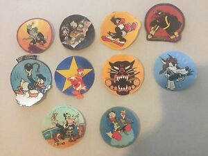 USA U.S. army ww2 military disney patch insignia fabric canvas nice rare uniform