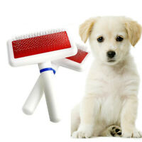 Soft Pet Puppy Dog Hair Shedding Grooming Trimmer Fur Comb Brush Slicker Tool