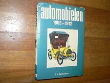 AUTOMOBIELEN 1905 - 1912 PRE WW1 CARS NICHOLSON K.R.I.T.,RAMBLER,MINERVA,STELLA