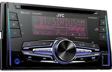 JVC KW-R920BTS Double 2 DIN CD/MP3 Player iHeart Radio SiriusXM Ready Bluetooth