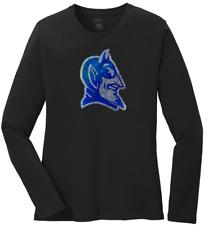 Women's Duke Blue Devils Tide Ladies Bling Long Sleeve T-Shirt S-4XL