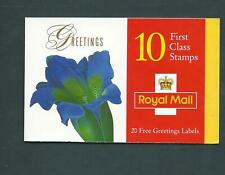 Kx9 1997 Flowers. Barcode Booklet