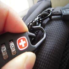 Padlock Password Lock for Travel Bag Backpack Handbag-Box Luggage Black