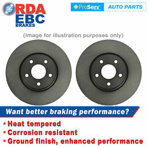 Front Disc Brake Rotors for Volkswagen Transporter 10/1985-1992 (258mm Dia)