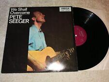 PETE SEEGER-We shall overcome Vinyle LP AMIGA 1973