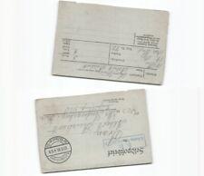 (c2830)   Feldpost 1. Weltkrieg , Nachlass Reichert