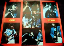 23X32 VINTAGE POSTER ROCK ROLL COUNTRY MUSIC LYNYRD SKYNYRD MADE IN BELGIUM M3