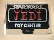 Star Wars Kenner Return of the Jedi Gondola Header Foil Store Display AFA 85