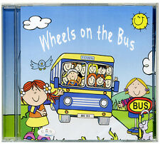 The Wheels on the Bus Children's CD.  Favourite songs for kids *NEW & WRAPPED*