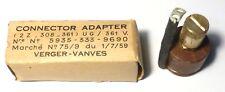 FT-237: connector adaptator UG-361V (de prise U vers borne haute impédance W128)