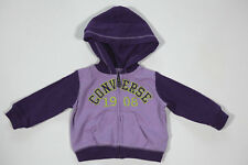NEW All Star Converse Kids Girls Hooded Sweatshirt Sweatshirt Jacket gr.0-3m 18