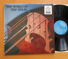 SPA 350 World Of The Violin Ruggiero Ricci Campoli etc NEAR MINT Decca Stereo