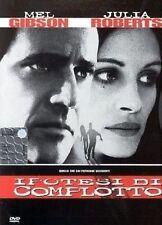 Dvd IPOTESI DI COMPLOTTO (1997) - ***Mel Gibson,Julia Roberts***......NUOVO