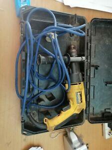 Dewalt DW5054P Hammer Drill, corded drill with case, read description (781)