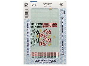 HO MKT Assorted Freight Cars Model Train Decals Microscale #87-446 y  vmf121