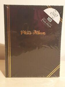 """Photo albums - 6 x 4"""" (100) Plain black"""