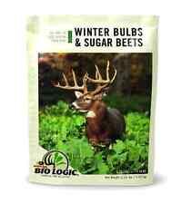 NEW BioLogic Winter Bulbs Sugar Beet Food Plot Deer Feed Seed Hunting Nutritious