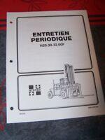 6R Manuel HYSTER Entretien Periodique H20.00-32.00F