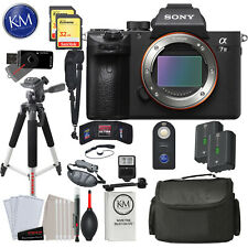 Sony Alpha a7 III Mirrorless Digital Camera - Body Onlywith Deluxe Bundle