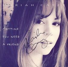 Mariah Carey 'Anytime You Need A Friend' Signed Single Vinyl Autograph (w/ LOA)