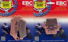 EBC R Series Front & Rear Brake Pad Set - KTM 125-530 _ FA181R|FA368R