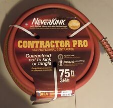 New listing Neverkink Contractor Pro Industrial Professional 3/4 in 75 ft Garden Water Hose