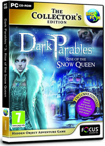 Dark Parables 3: Rise of the Snow Queen (PC GAME) NEW & SEALED