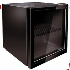Stylish Husky Black Counter-top Drinks Fridge for Bottles and Can HUS-HY192, 48L