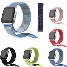 Cinturino 23mm braccialetto polso nylon SPORT RUN per FitBit Versa 2 HVS2