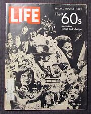 1969 Dec 26 LIFE Magazine '60s Decade of Tumult & Change VG+ 4.5 Beatles Snoopy