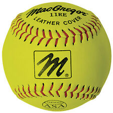 "MacGregor X44Re Asa 11"" Slow Pitch Softball (Yc) - 1 Dozen"